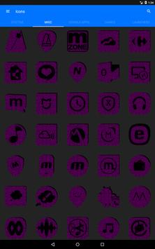 Purple Puzzle Icon Pack screenshot 13