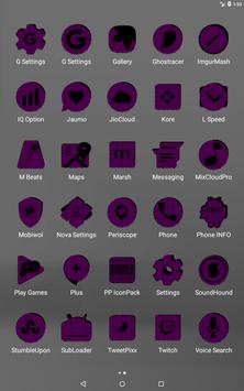 Purple Puzzle Icon Pack screenshot 10