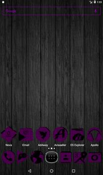 Purple Puzzle Icon Pack screenshot 16