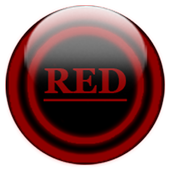 Red Glass Orb Icon Pack v2.2 icon