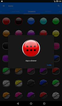 Red Glass Orb Icon Pack v2.2 apk screenshot