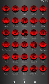 Red Icon Pack Style 3 v3.0 Free screenshot 17