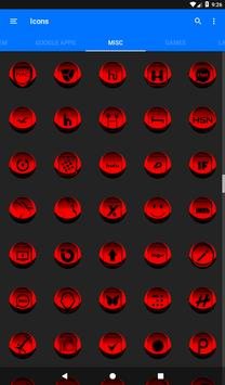 Red Icon Pack Style 3 apk screenshot