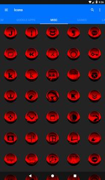 Red Icon Pack Style 3 v3.0 Free screenshot 23