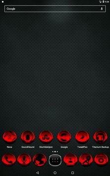Red Icon Pack Style 3 v3.0 Free screenshot 8