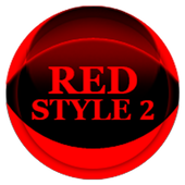 Red Icon Pack Style 2 v3.0 Free icon