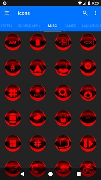 Red Icon Pack Style 2 v3.0 Free screenshot 6