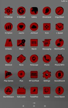 Red Puzzle Icon Pack screenshot 10