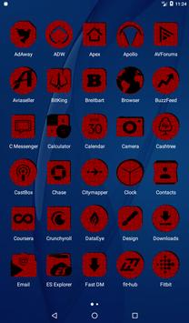 Red Puzzle Icon Pack screenshot 17