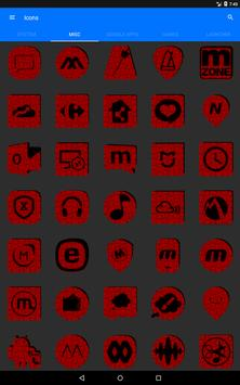 Red Puzzle Icon Pack screenshot 15