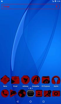 Red Puzzle Icon Pack screenshot 16