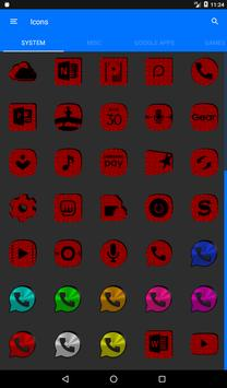 Red Puzzle Icon Pack screenshot 19