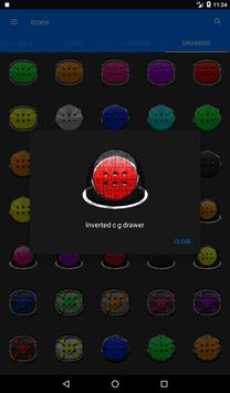 Red Puzzle Icon Pack apk screenshot
