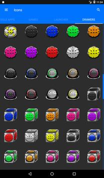 Red Puzzle Icon Pack screenshot 22