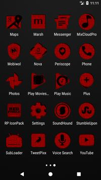 Red Puzzle Icon Pack screenshot 3