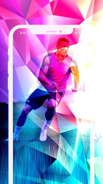 Cristiano Ronaldo Neon Wallpaper Juventus Hd 4k For