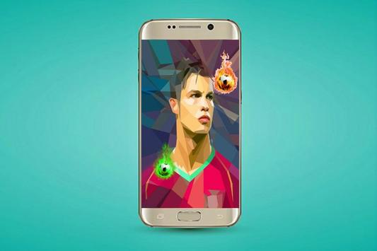 Ronaldo Live Wallpapers screenshot 2