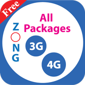 All Zong Packages 2018 Free icon