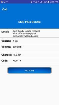Pakistan All Sim SMS Packages 2018 screenshot 2