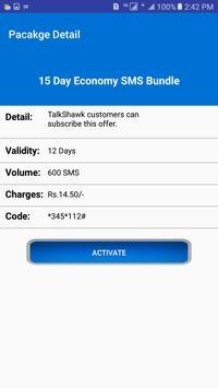 Pakistan All Sim SMS Packages 2018 screenshot 4