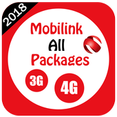 My Mobilink Packages icon