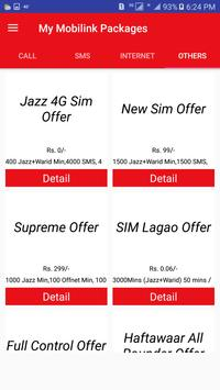 My Mobilink Packages screenshot 3