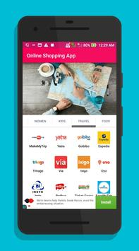 All in one Online Shopping India apps poster