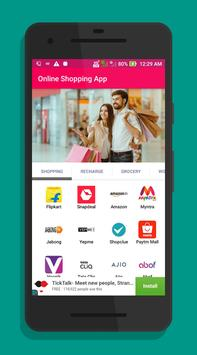 All in one Online Shopping India apps screenshot 2