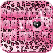 Rose leopard Keyboard Theme icon
