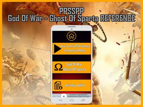 New ppsspp God Of War - Ghost Of Sparta tips apk screenshot