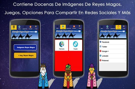 Imágenes De Reyes Magos Frases apk screenshot
