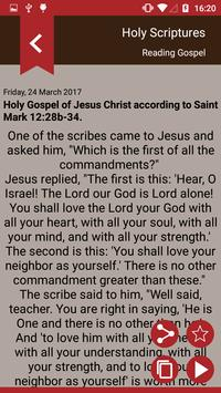 Gospel of the day - Holy Bible screenshot 1