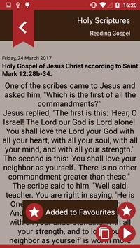 Gospel of the day - Holy Bible screenshot 2