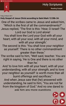 Gospel of the day - Holy Bible screenshot 6