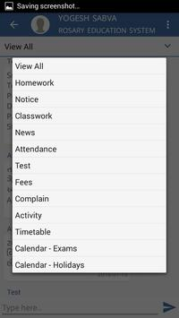 Rosary Education System-Rajkot (Parent App) apk screenshot