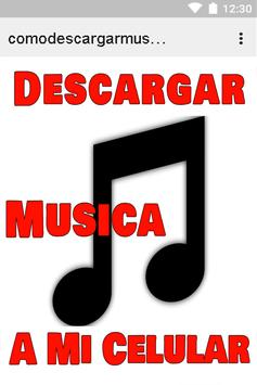Descargar Música Gratis Movil poster