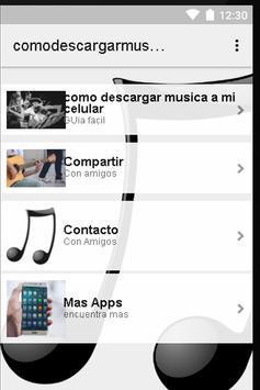 Descargar Música Gratis Movil apk screenshot