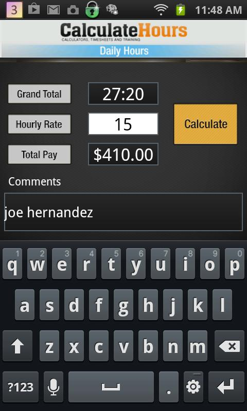 Calculate Work HoursTimesheet Apk Download  Free Tools App For
