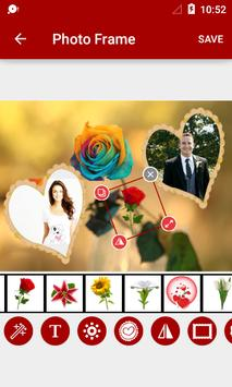 Rose Dual Photo Frame apk screenshot