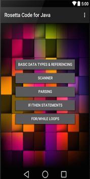 Rosetta Code screenshot 1