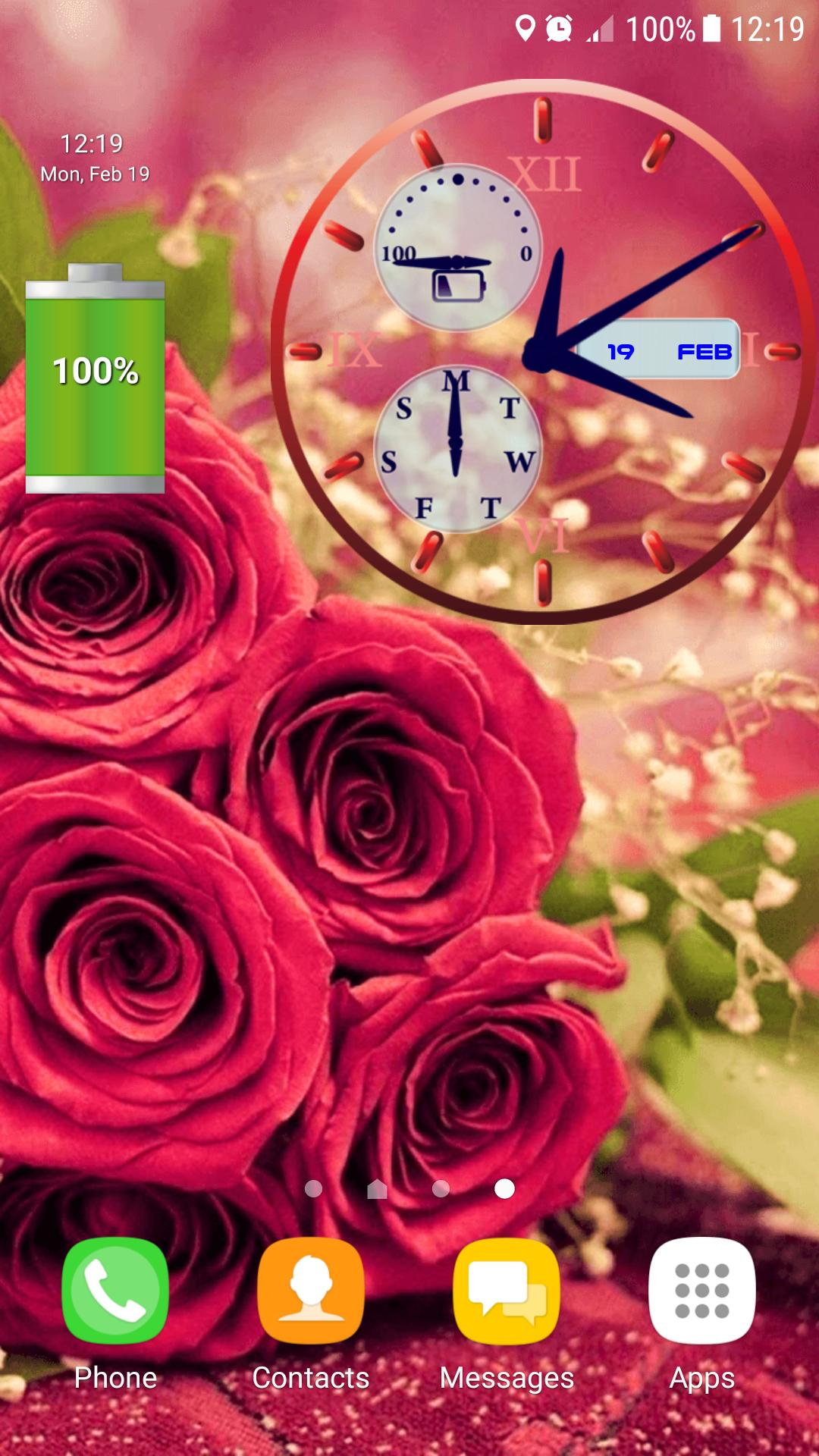 Mawar Jam Wallpaper Animasi for Android APK Download