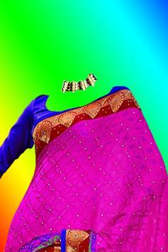 Beautiful Saree Photo Montage screenshot 3