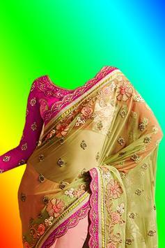 Beautiful Saree Photo Montage screenshot 4