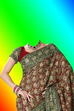 Beautiful Saree Photo Montage screenshot 5