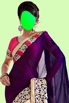 Beautiful Saree Photo Montage screenshot 8