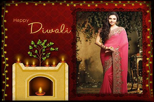 Diwali Party Photo Frames poster