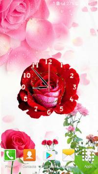 Rose Flower Clock screenshot 3