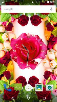 Rose Flower Clock screenshot 10