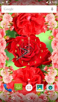 Rose Flower Clock screenshot 7