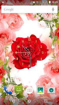 Rose Flower Clock screenshot 9